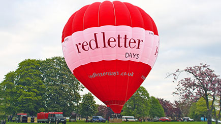 Exclusive Hot Air Balloon Flight for Four in The Midlands