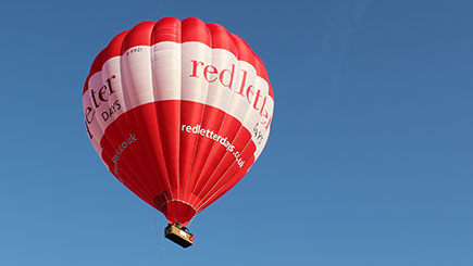 Weekday Anytime Hot Air Balloon Flight in South West England and Wales