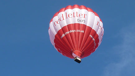 Weekday Anytime Hot Air Ballooning for Two in South East England and East Anglia