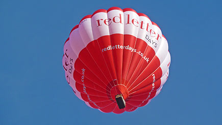 Weekday Anytime  Hot Air Balloon Flight for Two in South West England and Wales