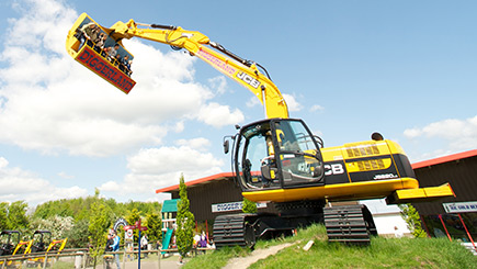 Day at Diggerland for Two in West Yorkshire