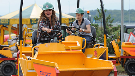 Day at Diggerland for Two in Devon
