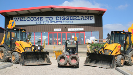 Day at Diggerland in Kent