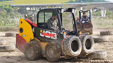 Dumper Truck Racing For Two At Diggerland Devon
