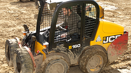 Dumper Truck Racing at Diggerland Devon