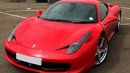 Ferrari 458 Thrill at Prestwold
