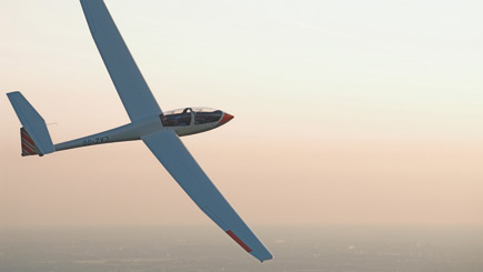 Gliding Flight In Northamptonshire