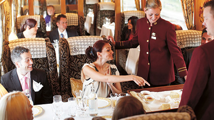 Northern Belle Luxury Train Day Trip for Two