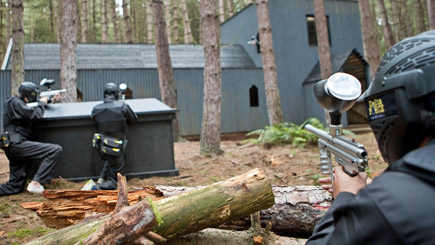 Paintballing for Eight Maidenhead