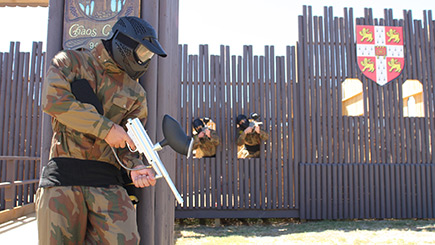Paintballing for Eight