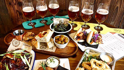 Beer and Food Matching Masterclass for Two