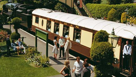 Belmond British Pullman Steam Train Excursion for Two from London
