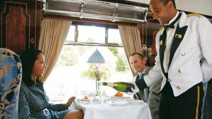 Belmond British Pullman Golden Age of Travel Steam Train Lunch