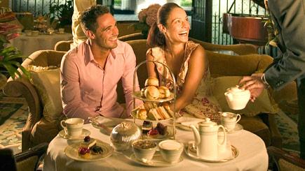 'Lady Hamilton's' Luxury Afternoon Tea for Two at The Talbot Ripley Inn, Surrey