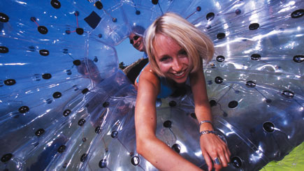 Aqua Zorbing for Two in Cheshire