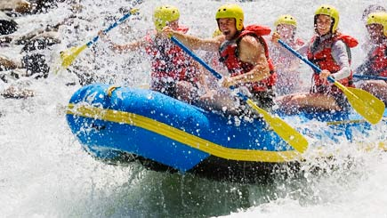White Water Rafting For Two In Scotland