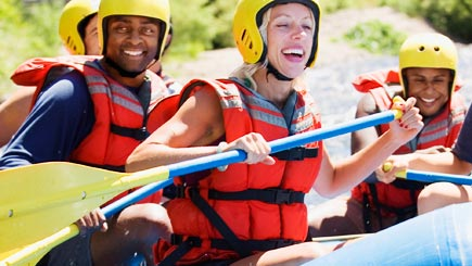 White Water Rafting for Two in Northamptonshire