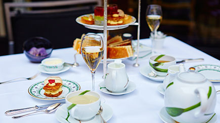 Champagne Afternoon Tea for Two on The Yacht