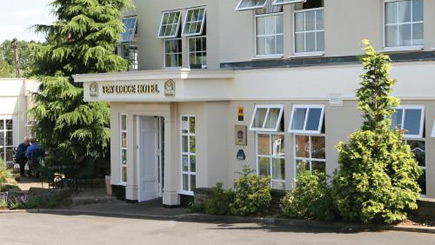 Champagne Afternoon Tea for Two at Yew Lodge Hotel