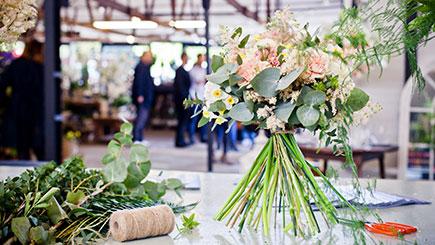 Seasonal Flower Arrangement Evening Class for Two at Your London Florist