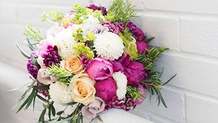 Hand Tied Seasonal Bouquet Floristry Class