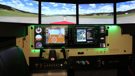 30 Minute Static Cessna Simulator Flight in Bristol