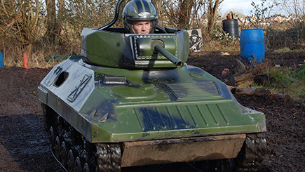 Mini Tank Driving Experience for up to Two