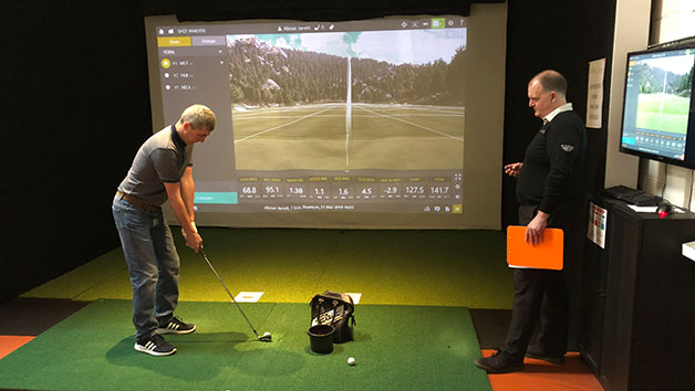 60 Minute Individual Golf Lesson At St Andrews Indoor Golf Centre For One