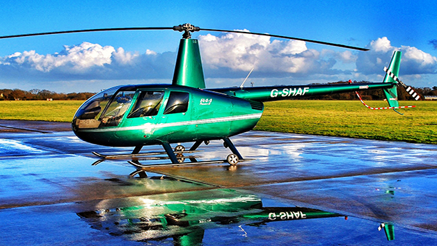 20 Minute Helicopter Flying Lesson