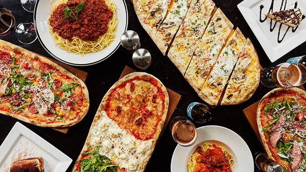 Buy Three Course Meal with Bottle of Wine at Prezzo for Two