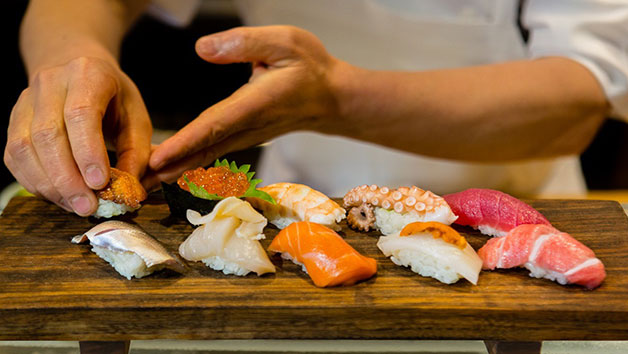 Click to view details and reviews for Sushi Making Experience At Midas Touch Crafts.