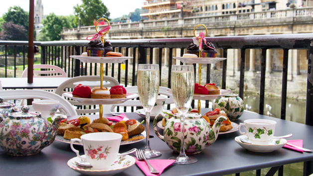 Buy Afternoon Tea with Bubbles for Two at B Bakery Bath