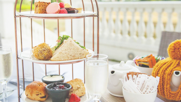 Afternoon Tea With Bottomless Bubbles At Wokefield Estate For Two