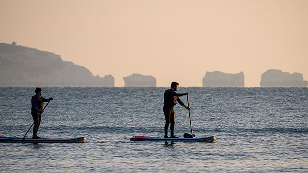 Stand Up Paddle Boarding At The New Forest Paddle Sport Company For One