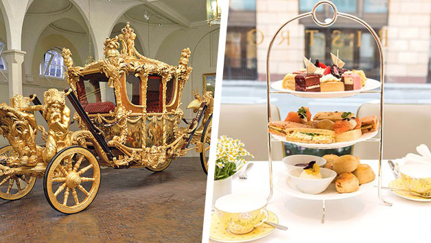 Entrance To Buckingham Palace State Rooms, The Royal Mews And Afternoon Tea At The Bistro, Taj 51