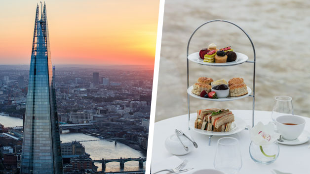 Bateaux Afternoon Tea Cruise And The View From The Shard For Two