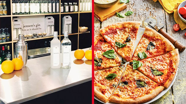 Buy Bermondsey Gin Tour and Tasting with 3 Course Meal plus Wine at Zizzi for Two