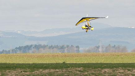 10 Minute Flex Wing Microlight Flight In Bath