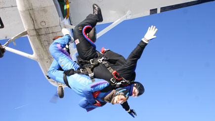 Tandem Skydiving In Lincolnshire