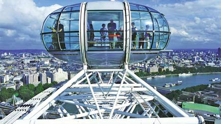 Buy Coca-Cola London Eye and Seven-Course Tapas and Cocktails  for Two