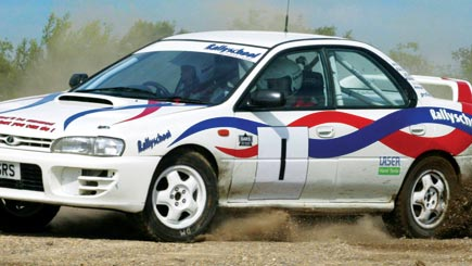 Introductory Subaru Impreza Rally Driving For Two