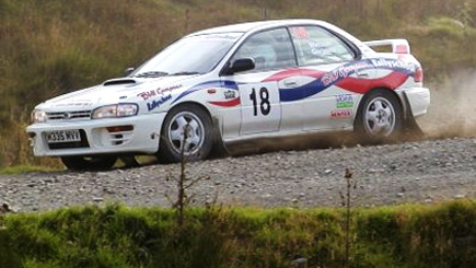 Extended Subaru Impreza Rally Driving In Northamptonshire