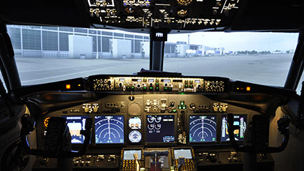 40 Minute Flight Simulator Experience In Cheshire