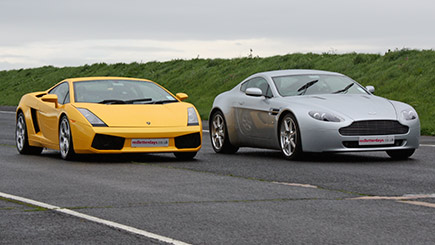Click to view details and reviews for Aston Martin Versus Lamborghini Thrill.