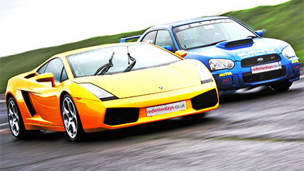 Lamborghini And Rally Thrill