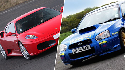 Click to view details and reviews for Supercar Versus Rally Thrill.