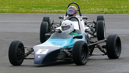 Single Seater Motor Racing At Anglesey Circuit