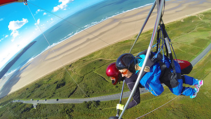 Tandem Hang Gliding In Devon