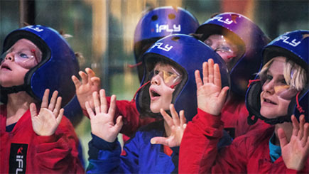 Kids Indoor Skydiving For Two In Manchester