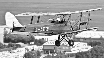 Tiger Moth Tour Of World War I Fovant Badges